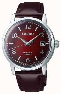 Seiko Presage | Negroni | Automatic | Red Dial | Cocktail SRPE41J1