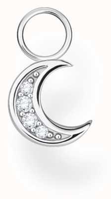 Thomas Sabo Sterling Silver Single Moon Earring Pendant EP003-051-14