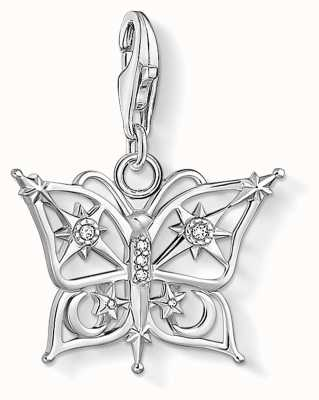 Thomas Sabo Charming | Sterling Silver Butterfly,Star&Moon Charm Pendant 1852-051-14