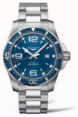 Longines HydroConquest 44mm Automatic Diver Blue Dial L38414966