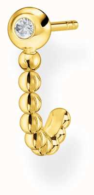 Thomas Sabo Charming   18k Yellow Gold Plated Single Stud Earring H2160-414-14