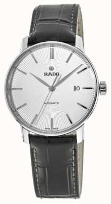 RADO Rado Coupole Classic L Automatic Black Leather Silver Dial R22860015