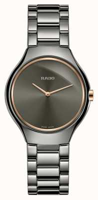 RADO Rado True Thinline SM Grey Dial Ceramic Braclelet R27956132