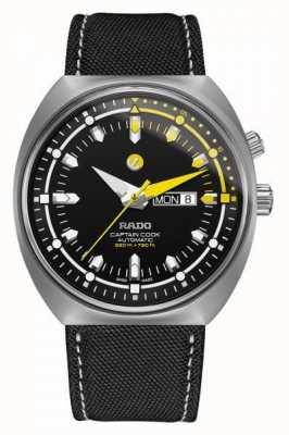RADO Rado Tradition Captian Cook MKIII XXL Automatic Synthetic Black Dial R33030176