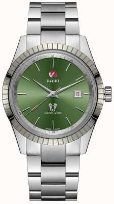 RADO Golden Horse Automatic Mens Green Dial Stainless Steel Bracelet R33101314