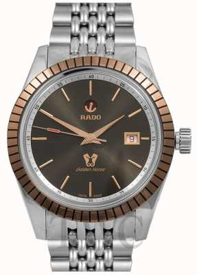 RADO Golden Horse Automatic Mens Stainless Steel Grey Dial R33100103