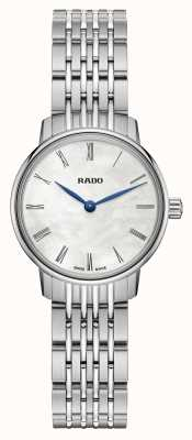 RADO Ladies Coupole Classic Quartz Stainless Steel White Dial R22897943