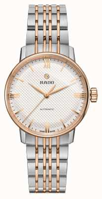 RADO Ladies Coupole Classic Automatic Two - Tone Silver Dial R22862067