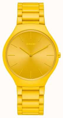 RADO True Thinline Les Couleurs Sunshine Yellow Limited Edition R27093632