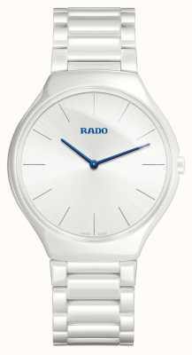 RADO True Thinline White Ceramic Bracelet White Dial Quartz R27957022
