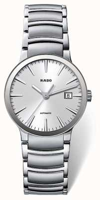 RADO Centrix SM Ladies Automatic Silver Dial Stainless Steel Bracelet R30940103