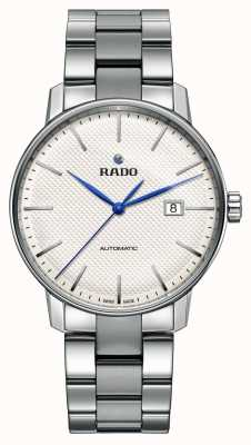 RADO Coupole Classic White XL Automatic Stainless Steel Silver Dial R22876013