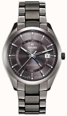RADO Hyperchrome XL Mens Automatic Grey Ceramic Bracelet Grey Dial R32165102