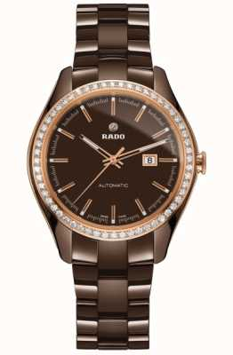 RADO Hyperchrome L Limited Edition Ladies Diamond Bezel Brown Dial R32177302