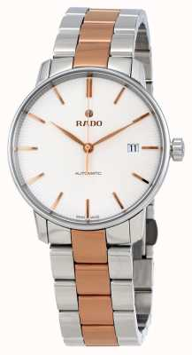 RADO Coupole L Mens Automatic Two-Tone White Dial R22860022