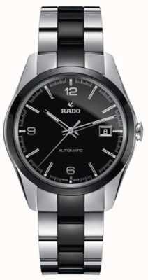 RADO Hyperchrome L Mens Automatic Stainless Steel PVD Bracelet Black Dial Plated R32109152