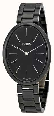 RADO Esenza Touch  L Ladies Quartz Black Ceramic Bracelet Black Dial R53093152