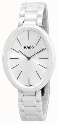 RADO Esenza Touch  L Ladies Quartz White Ceramic Bracelet White Dial R53092012
