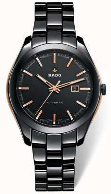 RADO Hyperchrome L Mens Automatic Black Ceramic Bracelet Black Dial R32255152