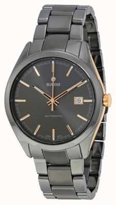 RADO Hyperchrome L Mens Grey Ceramic Bracelet Grey Dial Automatic R32119102