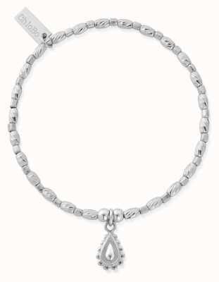 ChloBo Soul Glow Rain Drop Bracelet | Sterling Silver SBCFR3082