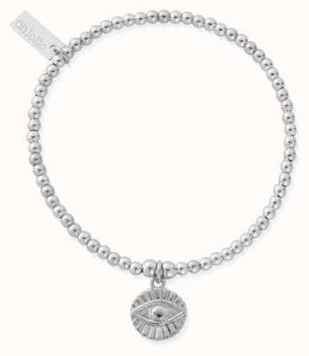 ChloBo Cute Charm Evil Eye Sunray Bracelet | Sterling Silver SBCC2024