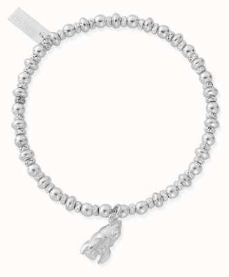 ChloBo Didi Sparkle Rocket Bracelet | Sterling Silver SBDS3075