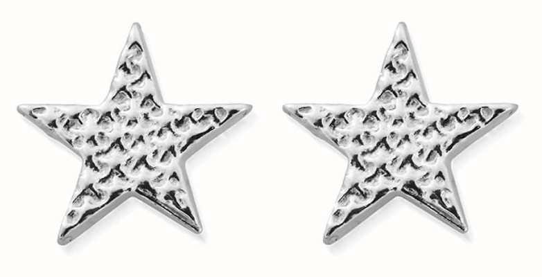ChloBo Sparkle Star Stud Earrings | Sterling Silver SEST3077