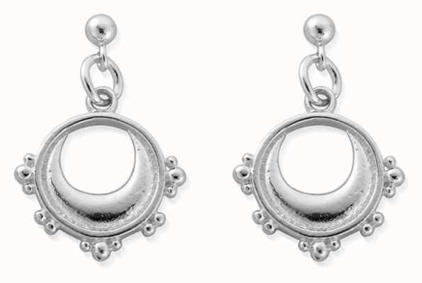 ChloBo Half Moon Drop Earrings | Sterling Silver SEST4005