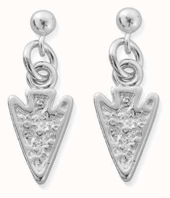 ChloBo Arrow Head Drop Earrings | Sterling Silver SEST4007