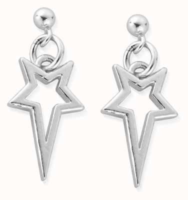 ChloBo North Star Drop Earrings | Sterling Silver SEST4003