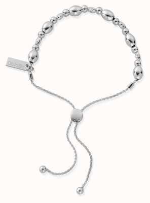 ChloBo Sparkle Oval Adjuster Bracelet | Sterling Silver SBSOA