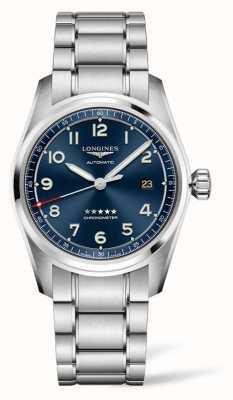 Longines Spirit Prestige Edition Blue Dial Stainless Steel 40mm L38104939