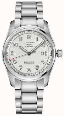 Longines Spirit Prestige Edition 42mm Stainless Steel Silver Dial L38114739