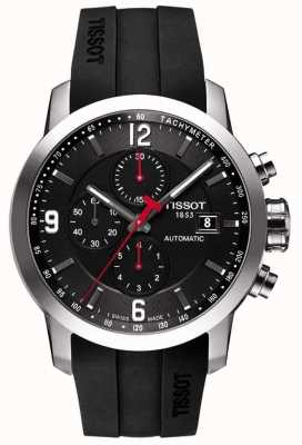 Tissot PRC 200 Automatic Chronograph Black Rubber T0554271705700