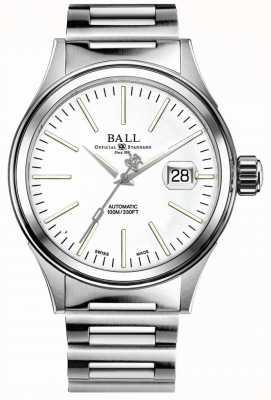 Ball Watch Company Fireman Enterprise | Stainless Steel Bracelet | White Dial NM2188C-S20J-WH