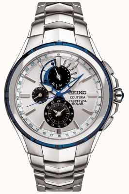 Seiko Solar Perpetual Calendar Alarm Chronograph SSC787