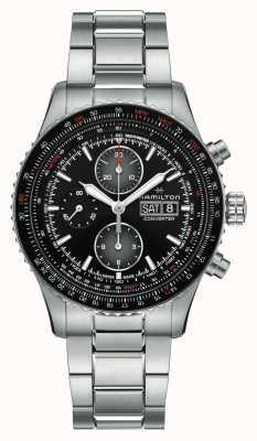Hamilton Khaki Aviation Converter Chrono | Stainless Steel Bracelet | H76726130