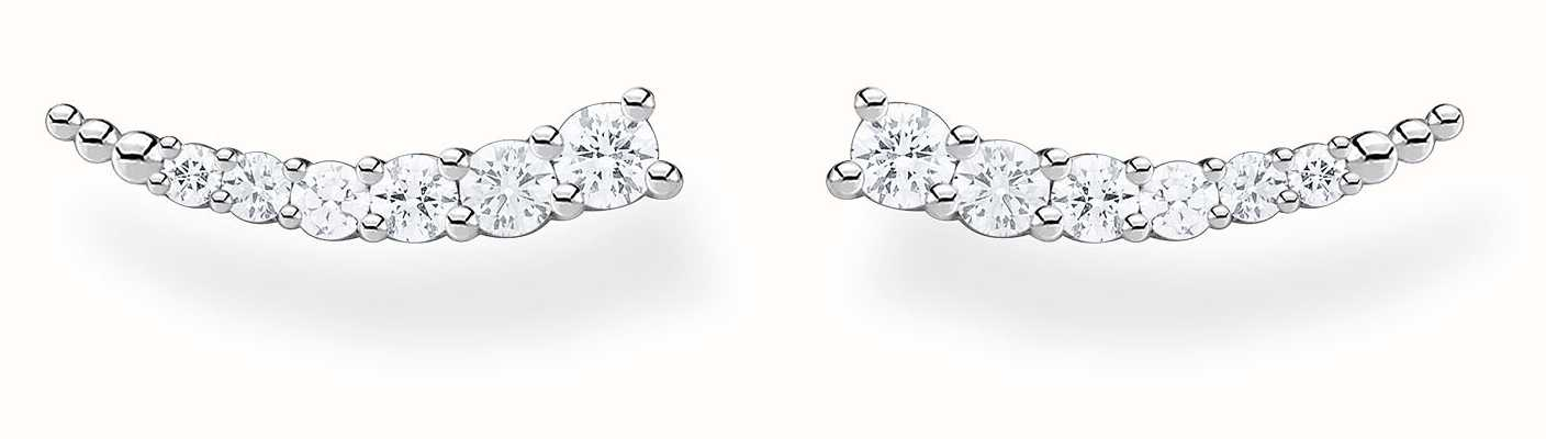 Thomas Sabo Sterling Silver Ear Climber | White Stones H2158-051-14