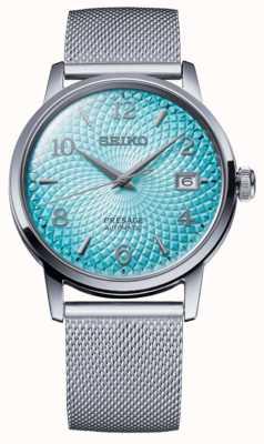 Seiko Limited Edition Presage | Steel Mesh Bracelet | Blue Dial SRPE49J1