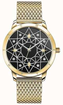 Thomas Sabo | Women's | Spirit Cosmo Starry Sky | Gold Mesh Bracelet | SET_WA0373-275-203-33