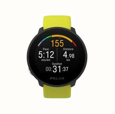 Polar Unite | Lime Green Silicone Strap | Black Case 90083111