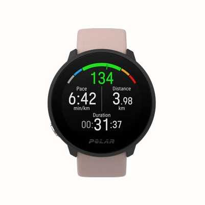Polar Unite | Blush Silicone Strap | Black Case 90084480