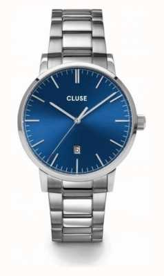 CLUSE | Aravis | Stainless Steel Bracelet | Blue Dial | CW0101501011