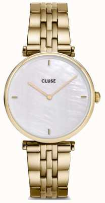 CLUSE Triomphe | Gold Plated Steel Bracelet | White Dial CW0101208014