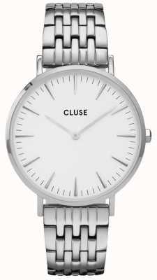 CLUSE La Bohème | Stainless Steel Bracelet | White Dial CW0101201023