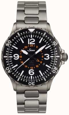 Sinn Mens 857 UTC VFR AR Technology | Tegimented Stainless Steel Bracelet 857.0401 BRACELET