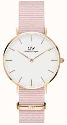 Daniel Wellington Petite 32 Rosewater | Pink Fabric Strap | White Dial DW00100317