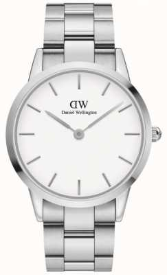Daniel Wellington Iconic Link 40 | Stainless Steel Bracelet | White Dial DW00100341