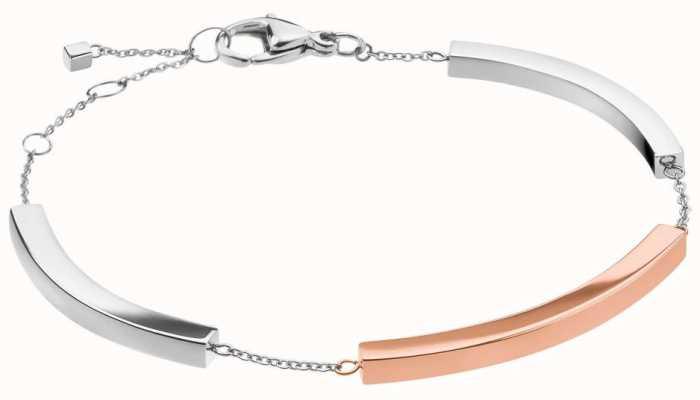 Calvin Klein Tinkle | Two-Tone Stainless Steel Bar Bracelet KJCTMB200100